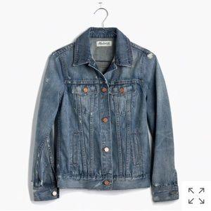 Madewell jean jacket in ellery wash